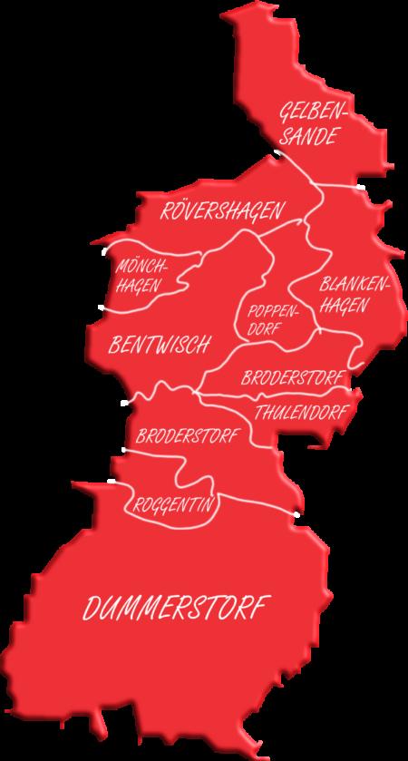 Karte des Ortsvereins
